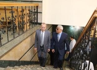 صور| محافظ كفر الشيخ يستقبل مدير الأمن للمشاركة في تكريم أسر الشهداء