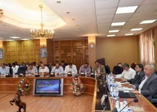 محافظ الشرقية يترأس لجنة لاختيار رئيس وحدة محلية قروية بأبو حماد