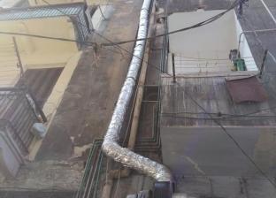 """""""شؤون البيئة"""" بالإسكندرية يشن حملة على المحال التجارية بسبب """"مدخنة"""""""