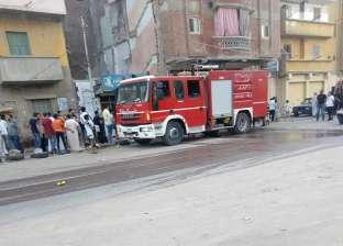 السيطرة على حريق محدود داخل إدارة الواسطى التعليمية ببني سويف