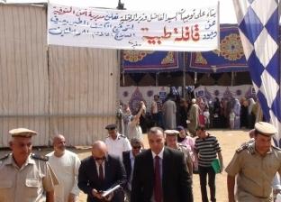 """إقبال كثيف على قافلة """"أمن المنوفية"""" الطبية في مركز شبين الكوم"""