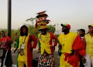 جمهور السنغال يستقبل منتخب بلاده بالغناء في ملعب الدفاع الجوي