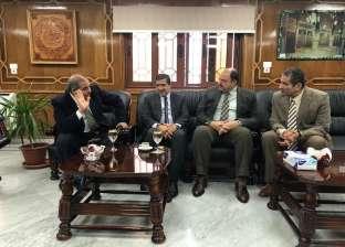 """""""المحرصاوي"""" و""""الكندري"""" يبحثان تعزيز التعاون في خدمة طلاب العلم"""