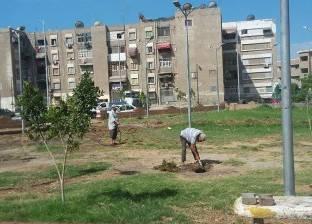 أحياء بورسعيد تستكمل تنظيف ساحات الصلاة والشوارع والحدائق
