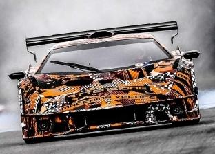 لامبورجيني تنشر صور تشويقية لسيارتها الجديدة SCV12