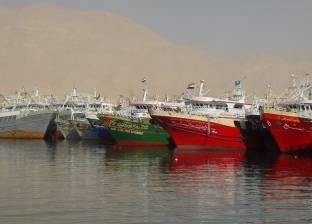 مراكب الصيد بالبحر المتوسط تحتمي بجزيرتي الشالية ومنتهى من الطقس السيئ