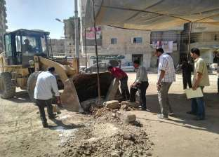 حي شرق يشن حملة مكبرة لإزالة الإشغالات والتعديات في الإسكندرية
