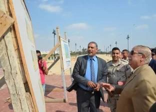 محافظ الإسماعيلية يفتتح الكورنيش السياحي الجديد نهاية أبريل الجاري