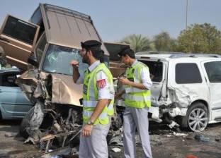 شرطة أبو ظبي تفرض غرامة مالية على التجمهر للنظر على حوادث المرور