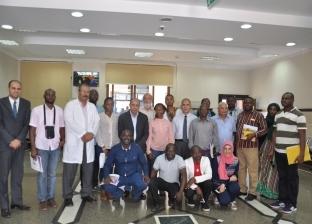 رئيس جامعة كفرالشيخ يستقبل وفد من 14 دولة إفريقية لتعزيز سبل التعاون