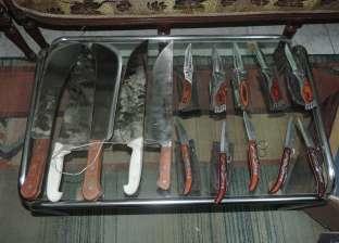 ضبط 62 قطعة سلاح أبيض بحملة أمنية في الإسكندرية