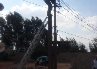 مصرع أمين شرطة صعقا بالكهرباء أثناء تأدية عمله بالمنيا