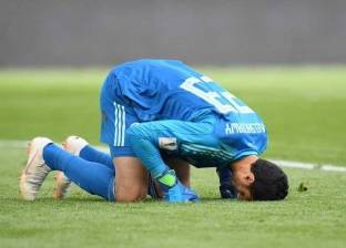 """الشناوي يدخل تاريخ المونديال كأول لاعب مصري يحصد لقب """"رجل المباراة"""""""