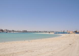 شواطئ مطروح خالية من الأهالي في ثاني أيام عيد الأضحى