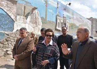 محافظ البحيرة: إعادة ترميم وتطوير جدارية دمنهور
