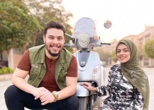 مسابقة من أحمد حسن وزينب لمتابعيهم.. والجوائز هواتف «آيفون» و«سامسونج»