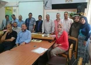 """""""إدارة الجودة بتعليم كفر الشيخ"""" تناقش خطط اعتماد المدارس"""