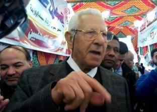 """مكرم محمد أحمد يصل ماسبيرو ويسأل عن مكتب """"صفوت الشريف"""""""