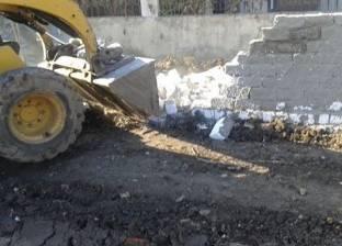 بالصور| رئيس مجلس مدينة سمنود يطالب بإزالة 3 حالات تعدي على أراضي