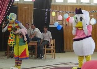 """""""الطفولة المبكرة"""" تقيم احتفالية للأطفال بجامعة المنيا"""