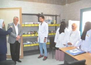 محافظ المنيا يفتتح وحدة طب الأسرة بالحي الخامس في المنيا الجديدة