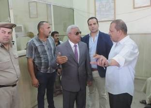 بالصور| مدير أمن كفر الشيخ يستمع لآراء المواطنين عن الخدمة بالأقسام