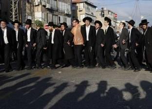 مظاهرة لآلاف اليهود المتشددين ضد العمل في خط للترام يوم السبت