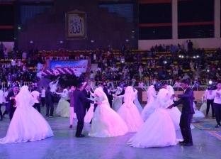 تنظيم حفل زفاف جماعي لـ40 عروسا في أسيوط