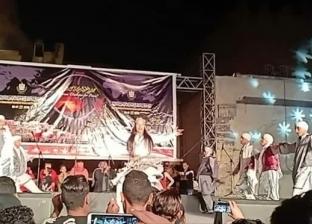 """تألق """"نجوم القاهرة"""" على مسرح مهرجان الطبول"""