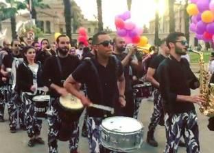 حفلات استقبال الطلبة بالجامعات طبول وبالونات و«دى جى» شعبى