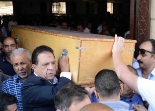 جنازة حازم ياسين أمين صندوق نادي الزمالك