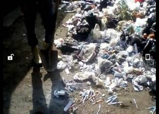 محضر ضد صيدلية ألقت مخلفات طبية خطرة في القمامة بزهور بورسعيد