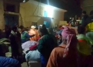 أهالى منشأة ناصر: مياه الصرف أسفل المنازل تسببت فى الشروخ الصخرية