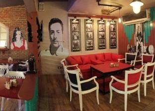 نجوم زمن الفن الجميل على جدران مطاعم الغربية.. حاجة تفتح النفس
