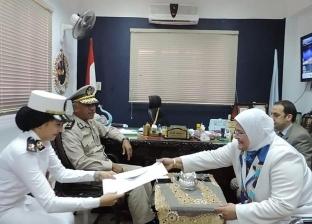 مديرية أمن كفر الشيخ تسدد المصروفات الدراسية للطلاب غير القادرين