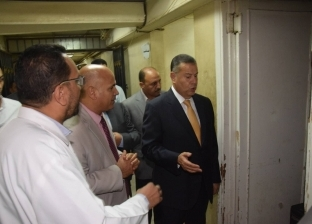 """""""عبدالجابر"""" يفاجئ أطقم الطوارئ والاستقبال بمستشفى بني سويف"""