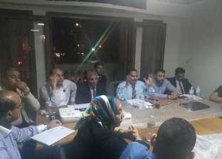 """رئيس """"مستقبل وطن"""" يلتقي قيادات الحزب بالإسكندرية"""