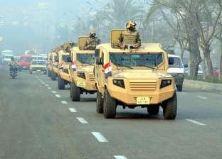 """بالصور  القوات المسلحة تشارك المصريين احتفالات """"تحرير سيناء"""" بتأمين المنشآت المهمة"""