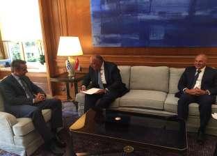 وزير خارجية اليونان: مصر تؤدي دورا مهما في تعزيز السلام بالمنطقة