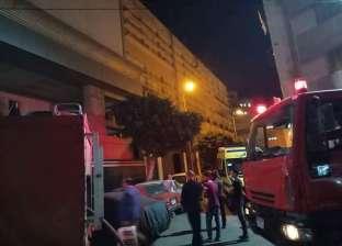 إصابة 6 عمال باختناقات في حريق مصنع أدوات كهربائية بالعاشر من رمضان