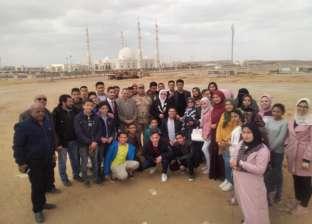 """وفد من طلاب كفر الشيخ يزور العاصمة الإدارية.. ووكيل التعليم""""إعجاز كبير"""