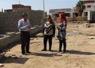 بالصور| رئيس مدينة أبورديس يتفقد أعمال تنفيذ الخطة الاستثمارية