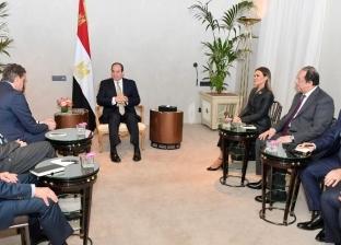 """""""متحدث الرئاسة""""يكشف تفاصيل لقاء السيسى ورئيس """"مرسيدس"""""""