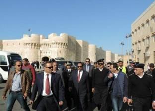 قلعة قايتباي بالإسكندرية تنفق 85 ألف لصيانة الكشافات وغرف الكهرباء