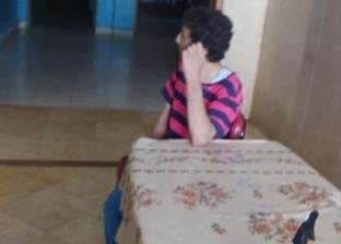 إنقاذ شاب من ذوي الإعاقة من الشارع بعد إيداع والدته العناية المركزة
