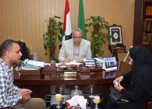 محافظ الشرقية يستقبل أسرة الشهيد أحمد جودة سعد ابن مدينة ديرب نجم
