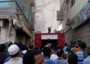الأمن يكثف الجهود لكشف غموض تفحم أسرة كاملة في حريق شقة عابدين