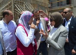 وزير الصحة تتفقد مستشفيات بورسعيد: متفائلة بنجاح منظومة التأمين الصحي
