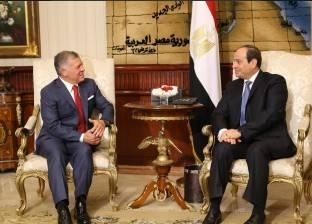 السيسي يؤكد على تعزيز العلاقات والروابط التاريخية مع الشعب الأردني