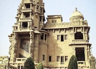 وزير الآثار يتفقد أعمال الترميم بقصر البارون